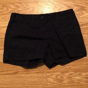 Black Size 4 LOFT Dress Shorts